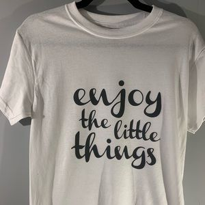 Enjoy the little things adult t-shirt